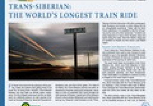 Trans-Siberian: The World's Longest Train Ride