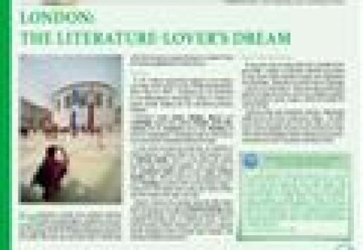 London: The Literature-Lover's Dream